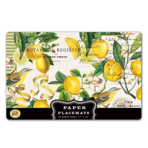 Michel Design Works Lemon Basil Placemats