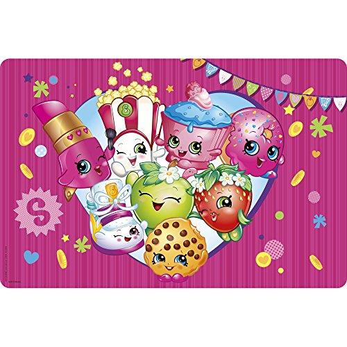 Zak Designs Shopkins Placemat 176 by 118 Multicolor