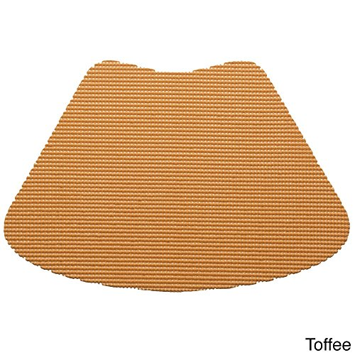 Wedge Placemat in Toffee - Set of 12