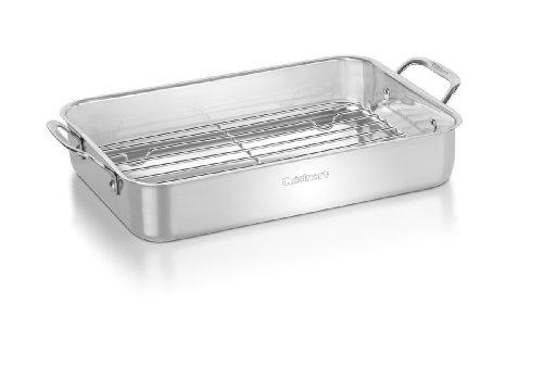 Conair Cuisinart 7117-14rr Lasagna Pan With Stainless Roasting Rack