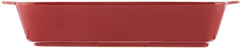 Gorham Rick Bayless Enchilada/lasagna Pan, Large, Red