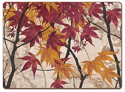 4 Cala Home Premium Hardboard Placemats Table Mats Maple Story