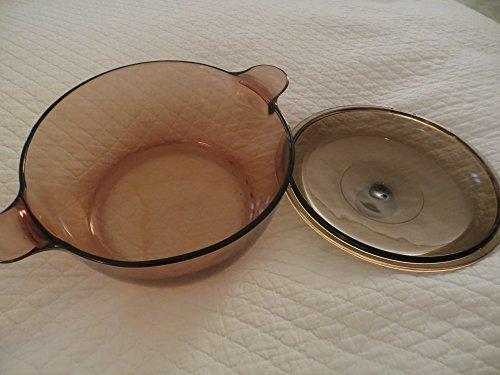 Corning Visions Ware 5 Qt Amber Dutch Oven Pot