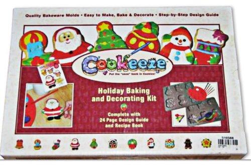 Cookeeze Holiday Baking Decorating Kit