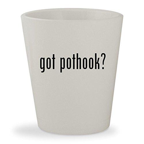 got pothook - White Ceramic 15oz Shot Glass