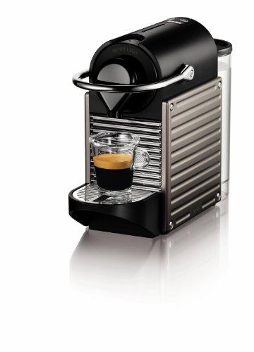 Nespresso Pixie Espresso Maker Electric Titan Discontinued Model