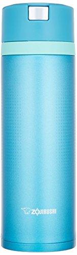 Zojirushi Water Bottle Stainless Steel Mug 048L Marine Blue Quick Open Easy Lock SM-XB48-AM