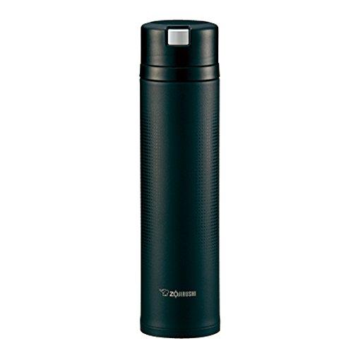 Zojirushi water bottle stainless mug carbon black Quick Easy open lock
