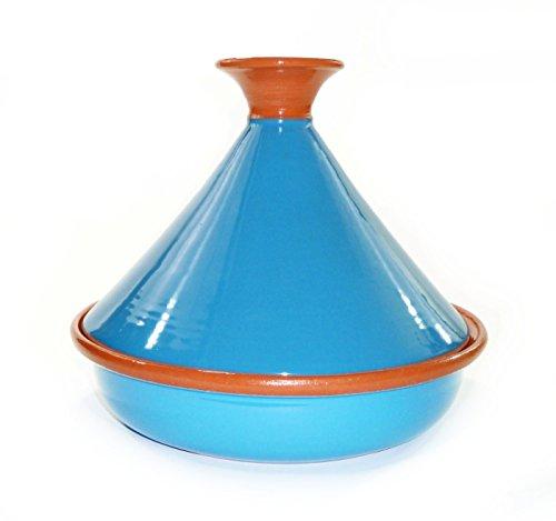Le Souk Ceramique CT-TUR-30 Cookable Tagine 12-Inch Turquoise