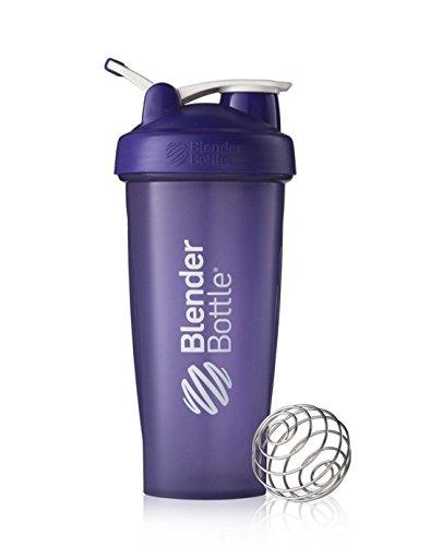 Blender Bottle Classic 28 oz Shaker with Loop Top Full Color Purple
