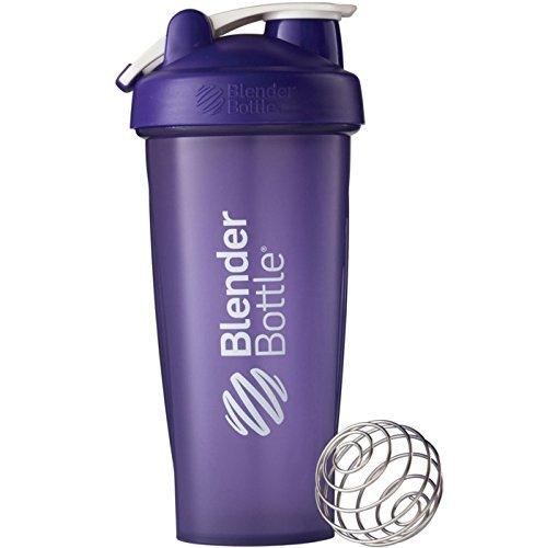 Blender Bottle Classic 28 oz Shaker with Loop Top_ Purple color