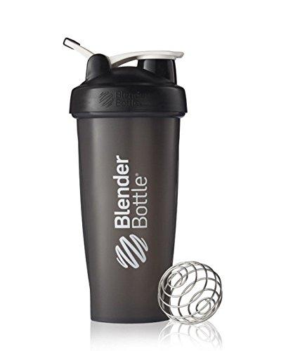 Blender Bottle Classic 28 oz With Loop by SUNDESA - Full Black