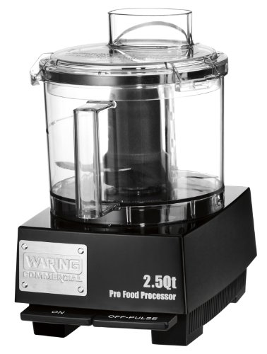 Waring Commercial WFP11SW Sealed Space-Saving Batch Bowl Food Processor with LiquiLock Seal System 2-12-Quart