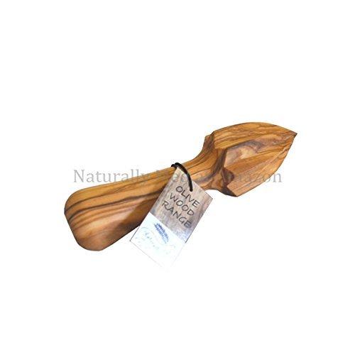 Naturally Med - Olive Wood Lemon / Citrus Reamer / Juicer