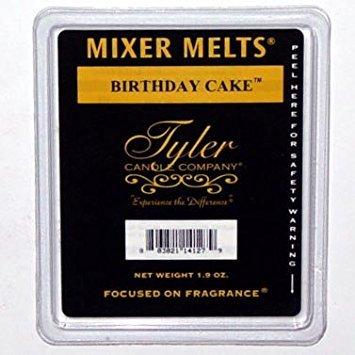 Tyler Candle Mixer Melts Wax Potpourri Set of 4 - Birthday Cake