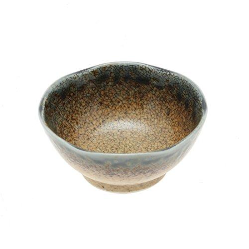2pc Ume BlueSand Crackle Sauce Bowl Set Includes 2 bowls