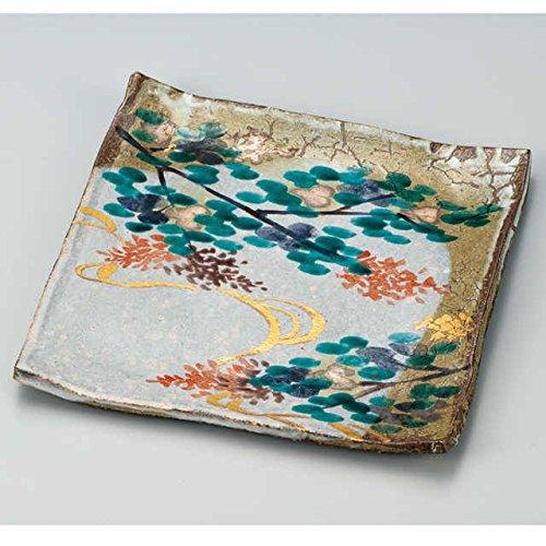 Japanese Ceramic Porcelain kutani ware Serving dish Salada plate  Japanese ceramic Hagiyakiya 213