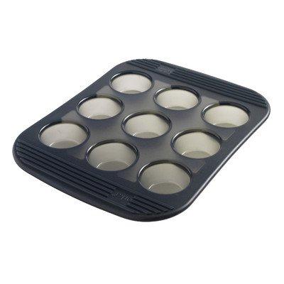 Mastrad 9 Cup Silicone Mini Muffin  Cupcake Baking Pan  Mold