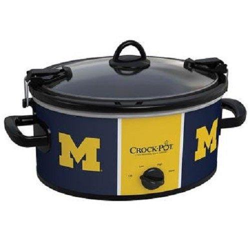 Collegiate Crock-Pot Cook Carry Slow Cooker - 6 Quart Michigan Wolverines