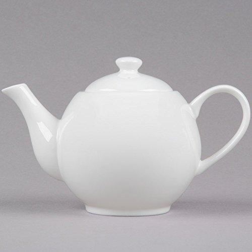 10 Strawberry Street B4528 Izabel Lam Pond 22 oz White Bone China Teapot - 12Case