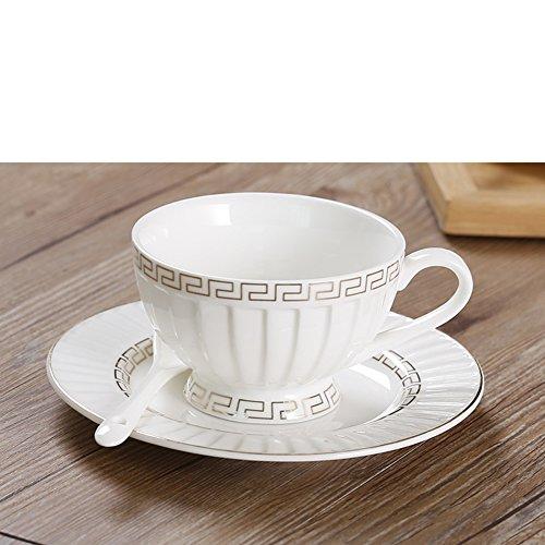 coffee cup set European-style tea set bone China teapot teacup-A