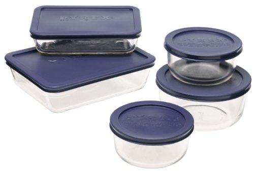 Pyrex Simply Store 10-piece Glass Food Storage Set
