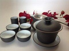 Gaiwan Tea Set with 9pcs Popular Set