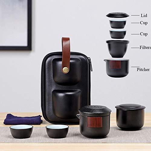 TANGPIN ceramic teapot gaiwan tea cup porcelain gaiwan tea sets portable travel tea sets drinkwareStyle CChina