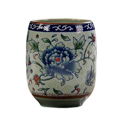 2 PCS Chinese Japanese Ceramic Tea Cups Kung Fu Teacup Beer Mug Water Cup 01