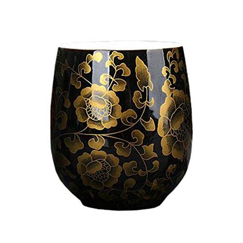 2 PCS Chinese Japanese Ceramic Tea Cups Kung Fu Teacup Beer Mug Water Cup 15