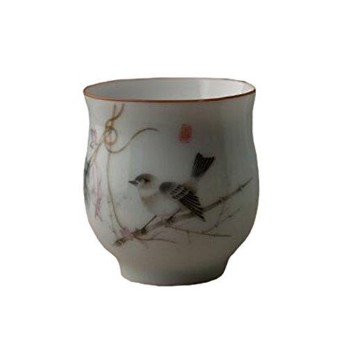 Chinese Japanese Ceramic Tea Cups Household Tea Set Teacup Set of 2 J
