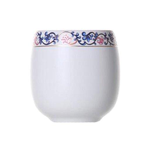Chinese Japanese Ceramic Tea Cups Household Tea Set Teacup Set of 2 Wisteria