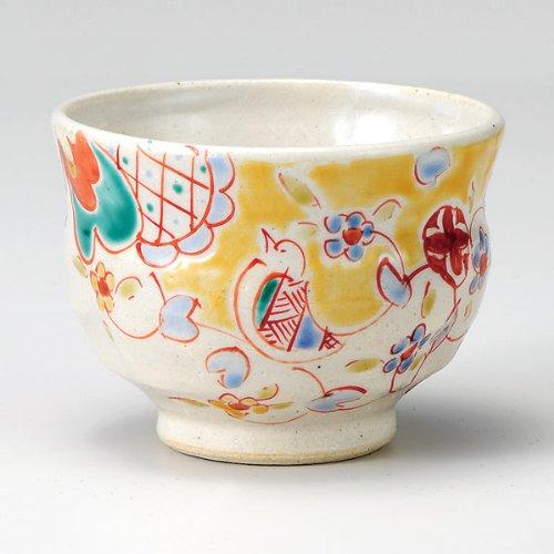 Japanese Yunomi Tea Cup Bird KUTANI YAKIware