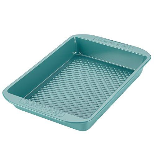Farberware 46330 purECOok Hybrid  Ceramic Nonstick Baking Pan  Nonstick Cake Pan Rectangle - 9 Inch x 13 Inch Blue