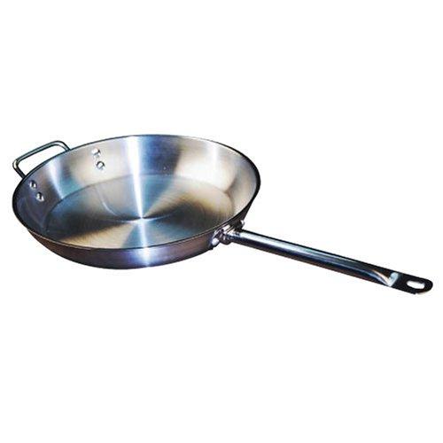 Winware Stainless Steel 12 Inch Fry Pan
