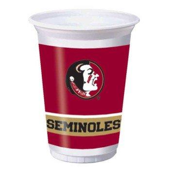 Creative Converting Florida State Seminoles Printed 20 Oz Plastic Cups 8 Count