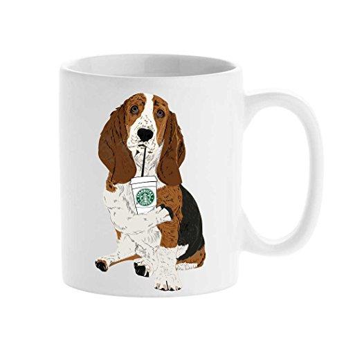 Personalized mug cup Starbucks Mug Basset hound Animal Mug Create your custom Mug Tea Cup