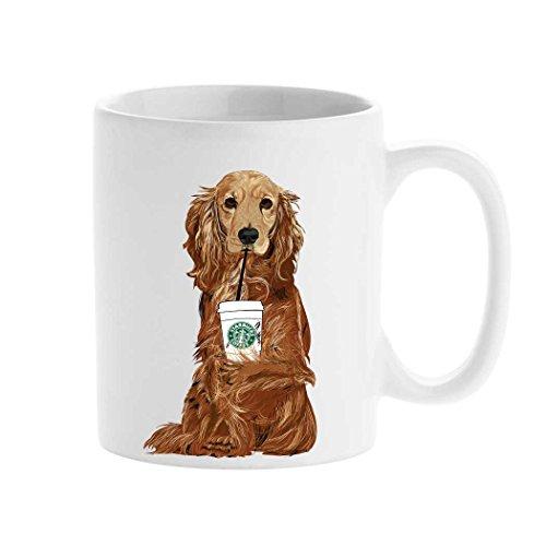 Personalized mug cup Starbucks Mug Cocker spaniel Animal Mug Create your custom Mug Tea Cup