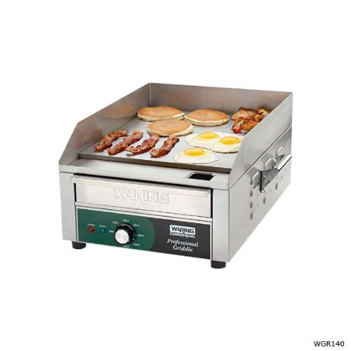 Waring Commercial WGR240X 240-volt Electric Countertop Griddle 24-inch