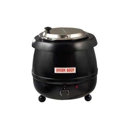 10-12 Qt Electric Adjustable Heat Soup Kettle Warmer