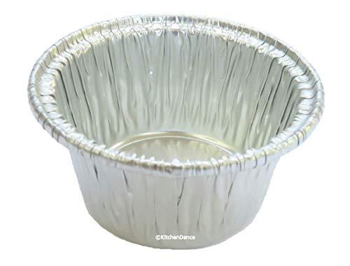 Disposable Aluminum Individual 2 oz Foil Cups - individual Dessert Cups -sauce cups- mini ramekins S220 50