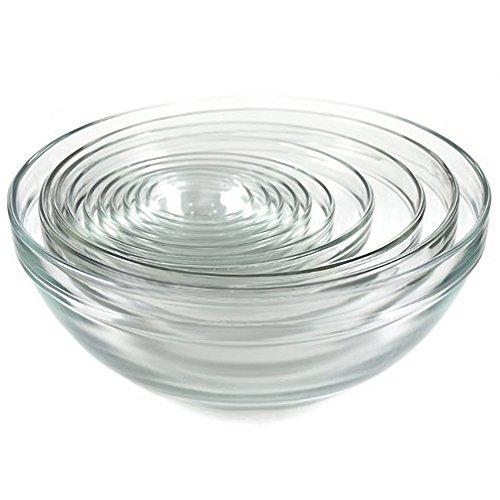 Kangaroos 10 Pc Glass Bowl Set Nesting Bowls Mixing Bowls