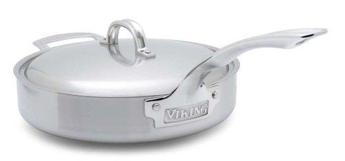 Viking VSC0303  3 Quart Stainless Steel Saute Pan