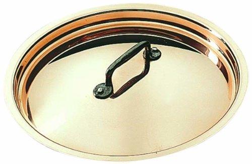 Matfer Bourgeat Copper Lid 365024 9 12 by Matfer Bourgeat