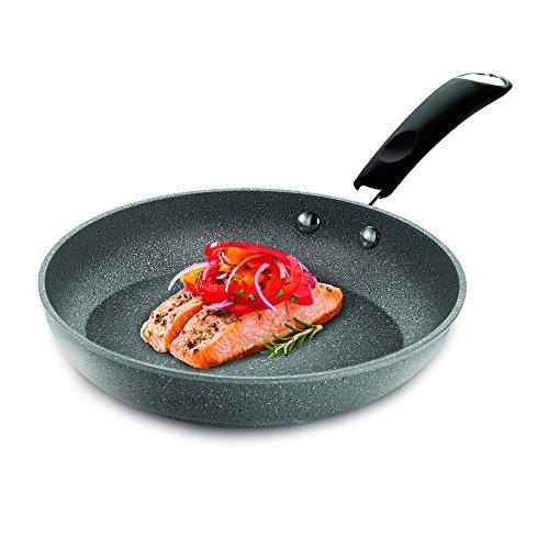 Bialetti Granito Nonstick Saute Pan 12-Inch Gray