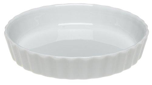 Pillivuyt Porcelain Extra-Small 4-14-Inch Individual TartCreme Brulee Dish