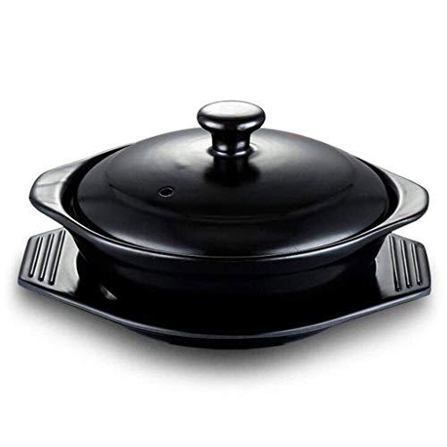 ZLDGYG Soup Pot - Casserole Quart Stock Pot with Lid Household Fire Resistance to High Temperature Casserole Soup Pot Size  227x112cm