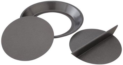 Chicago Metallic Non-Stick 9-Inch Split Decision Pie Pan