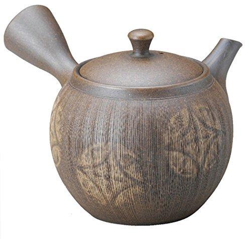 Tokoname Yaki Yakishime 360cc 53inch Japanese Teapot Grey Porcelain