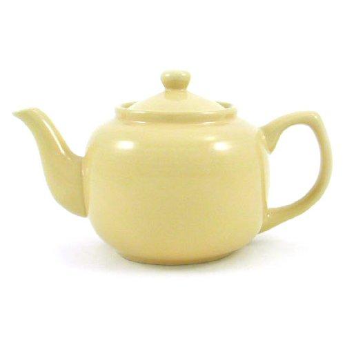 Sahara Sand Classic 6 Cup Ceramic Teapot